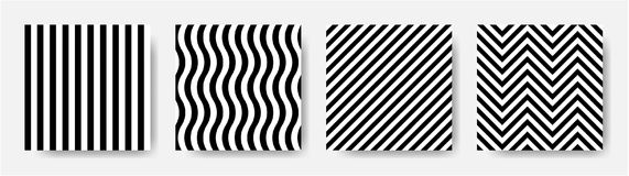 Black and white stripes seamless pattern. EPS 10 vector. Black and white stripes line seamless pattern. EPS 10 vector Royalty Free Illustration
