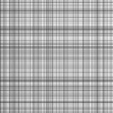 Black and white stripes vector plaid Royalty Free Stock Photos
