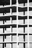 Black and white structure Stock Photography