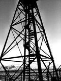 Black and white Structure Stock Photo