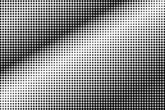Black white subtle contrast dotted gradient. Half tone background. Greyscale dotted halftone. Abstract monochrome texture. Black ink dot on transparent royalty free illustration