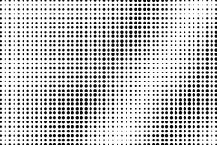 Black white subtle diagonal dotted gradient. Half tone background. Sparse dotted halftone. Abstract monochrome texture. Black ink dot on transparent backdrop royalty free illustration