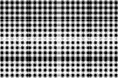 Black white subtle horizontal dotted gradient. Halftone background. Greyscale dotted halftone. Abstract monochrome texture. Black ink dot on transparent stock illustration