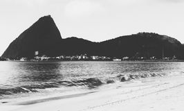 Black and white Sugar Loaf stock photos