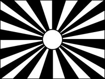 Black and white sun Royalty Free Stock Photos