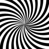 Black and White Sun Sunburst Pattern. Black and White Sun Rays, Beams Element, Sunburst Pattern, Starburst Shape on White Background. Radiating, Radial, Merging Stock Photography