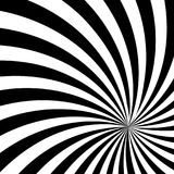 Black and White Sun Sunburst Pattern. Black and White Sun Rays, Beams Element, Sunburst Pattern, Starburst Shape on White Background. Radiating, Radial, Merging Stock Image