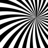 Black and White Sun Sunburst Pattern. Black and White Sun Rays, Beams Element, Sunburst Pattern, Starburst Shape on White Background. Radiating, Radial, Merging Stock Images