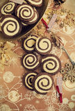 Swirl Cookies Royalty Free Stock Photography