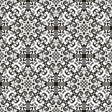 Black and white swirly pattern Royalty Free Stock Image