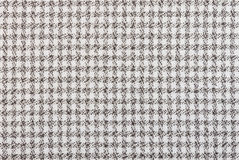 Black and White Tablecloth Fabric Texture Pattern Background Stock Photos