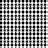 Black & White Tablecloth Seamless Pattern royalty free illustration
