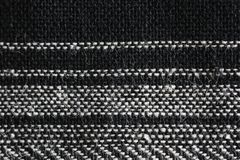 Black and White Textile Royalty Free Stock Images