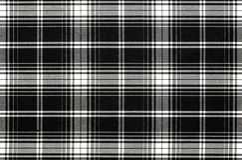 Black and white textile background Royalty Free Stock Photo