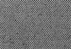Black and white textile pattern. Stock Photo