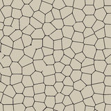 Black and white texture of cracked ground Stock Photography