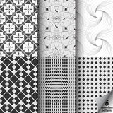 Black and white texture. Royalty Free Stock Photography