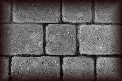 Black and White Textured Brick Royalty Free Stock Photos