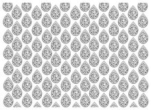 Black and White of Thai Vintage Wallpaper Background with Foral Pattern. Thai Floral Pattern, Illustration of Beautiful Black and White Vintage Texture Wallpaper Stock Images