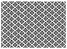 Black and White of Thai Vintage Wallpaper Pattern Background. Thai Style Pattern, Illustration of Beautiful Black and White Vintage Texture Wallpaper Background Royalty Free Stock Photos