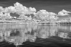 Black & White, Thailand taken in Near Infrared Royalty Free Stock Photography