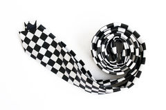 Black & white tie Royalty Free Stock Photos