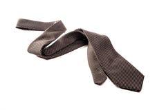 Black and white tie on white background Royalty Free Stock Photos