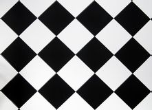 Black and white tile for background royalty free stock image