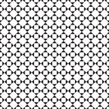Black and white tile chessboard pattern, vector squares background Royalty Free Stock Image