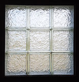 Black and White Tile Window Royalty Free Stock Image
