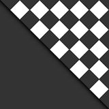 Black and white tiles. Stock Photo