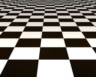 Black and white tiles Royalty Free Stock Photography