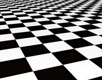 Black and white tiles Royalty Free Stock Image