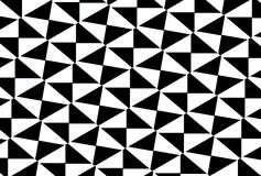 Black and white tiles Stock Photos