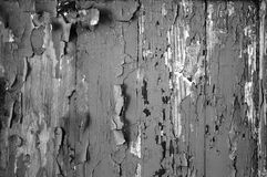 Black-and-white tone of abstract texture  the peeled-off paint, for a background   wallpaper Royalty Free Stock Photography