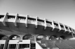 Black and white tone of Yoyogi National Gymnasium Stock Photography