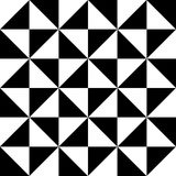 Black and white triangle abstract  background icon great for any use. Vector EPS10. Stock Photography