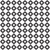Black and white Triangle pattern background Stock Image