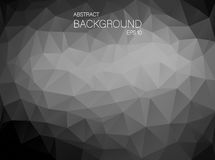 Black and white triangle shapes background Royalty Free Stock Photo