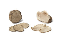 Black and white truffle Royalty Free Stock Image