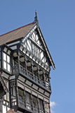 Black and white Tudor building Stock Photography