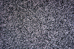Black and white TV screen noise Stock Images