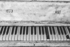 Black and White Upright Piano Royalty Free Stock Images