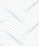 Black and white vector endless pattern created with thin undulat. E stripes, seamless netting composition. Continuous interlace texture can be used as website Stock Photography