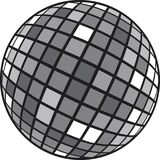 Disco club mirror ball glitter ball. Stock Images