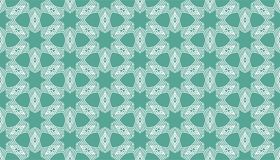 Decorative Seamless dots and line geometric pattern design Royalty Free Stock Photos
