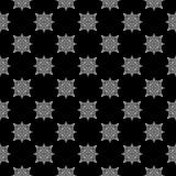 Decorative Seamless dots and line geometric pattern design Stock Photos