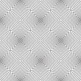 Geometrical star seamless pattern design Stock Photo