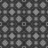 Black and white Vector sacred geometry design in rhombus royalty free illustration