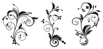 Black And White Vectore Curl Florish Vignette Stock Vector Illustration Of Style Corner 107088442